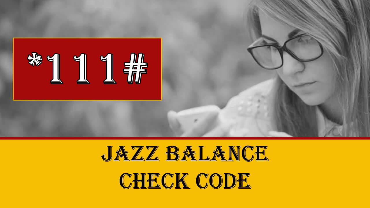 How to Check Jazz Balance