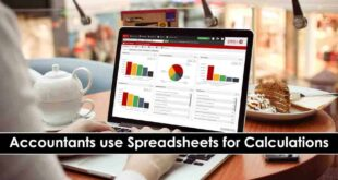 Accountants use Spreadsheets