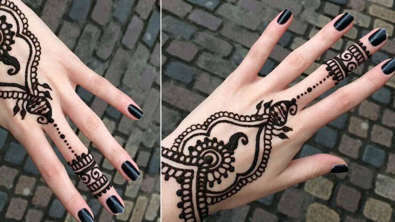 Stylish Pakistani Mehndi Design