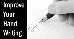 Improve your Hand Writing