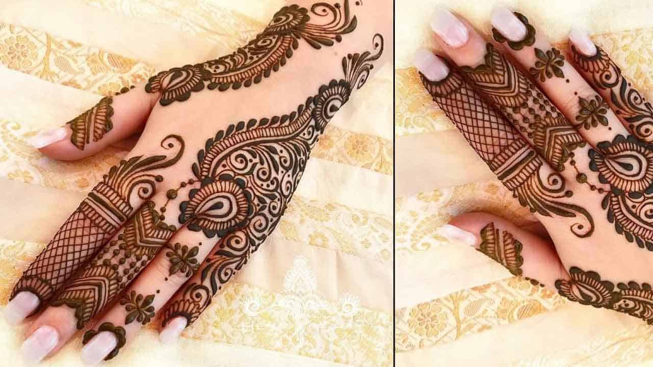 Beautiful Indian Bridal Mehndi Design