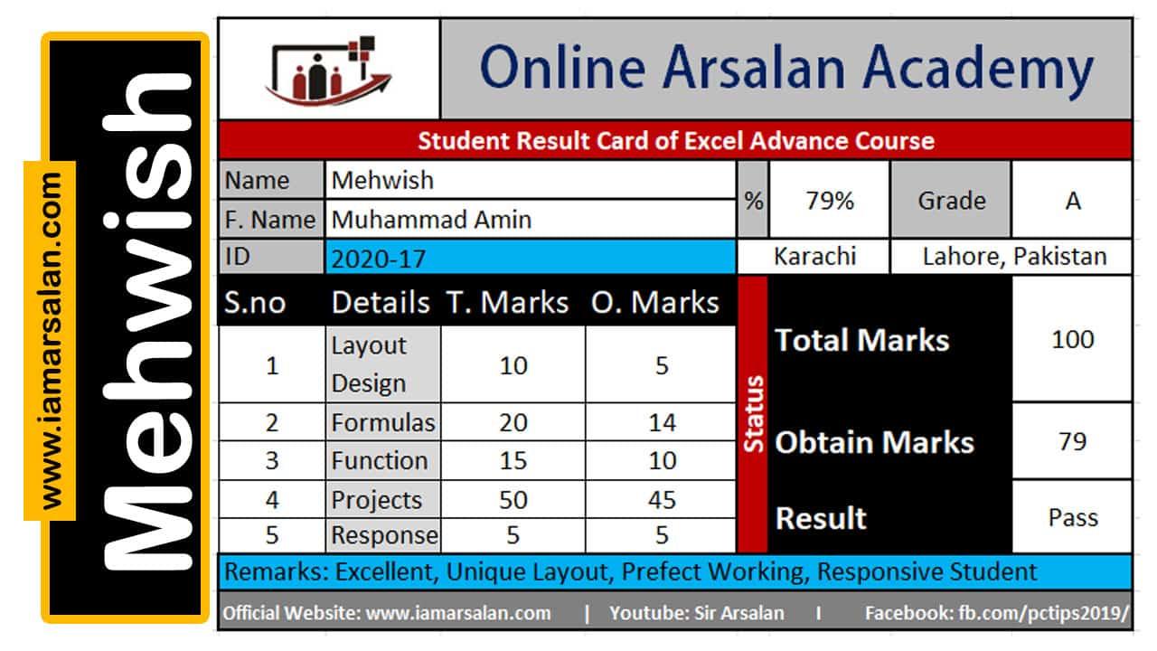 Excel Advance Course