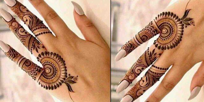 Finger Mehndi Design