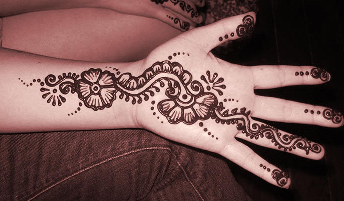 Latest Eid Mehndi Designs for Girls