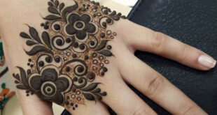 Stylish Hand Simple Mendhi Design