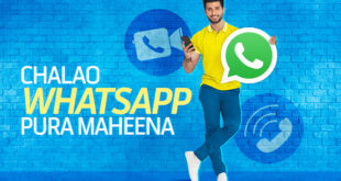 Telenor Monthly WhatsApp Package 2021