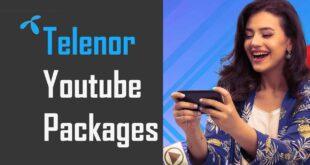 Telenor Youtube Packages