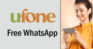 Free Ufone WhatsApp Package