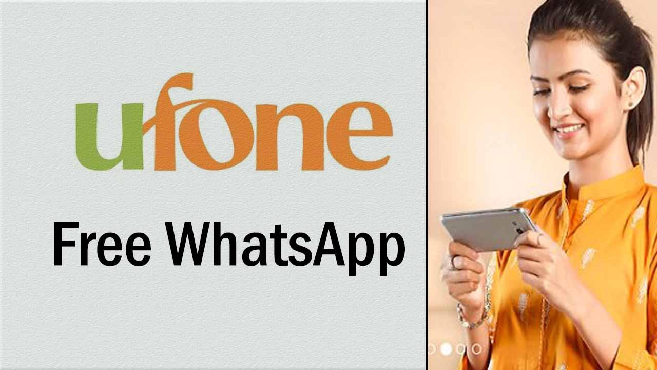 Free Ufone WhatsApp Package