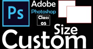 How to Open Custom Size in Adobe Photoshop