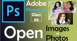 How to Open Images and Photos in Adobe Photoshop